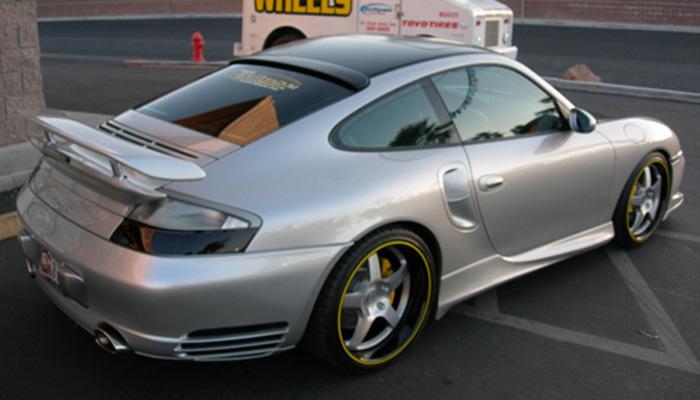 Porsche 996T with GT2 Front Bumper.