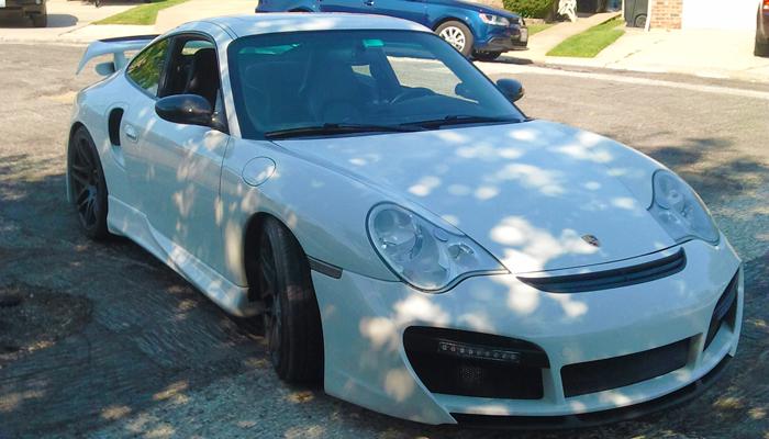 Porsche 996T with GT Front Bumper.
