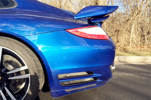 997 Turbo S with GT2 Add on Wing & Carbon Fiber Rear Valance