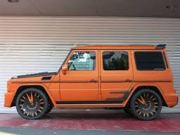 Mercedes G63 with WD Body Kit.