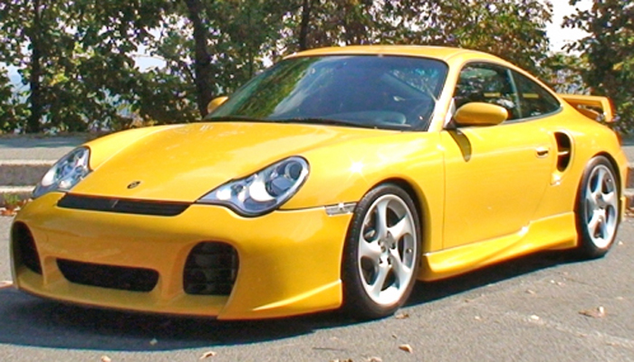 Porsche 996 Turbo with Type 2 Body Kit.