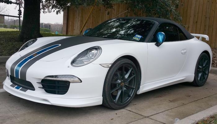 Porsche 991 with Type 1 Body Kit.
