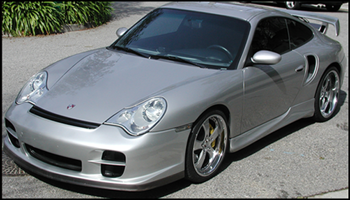Porsche 996 Turbo with GT2 Body Kit.