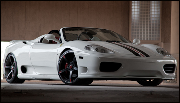 Ferrari 360 Spyder with Aero Body Kit.