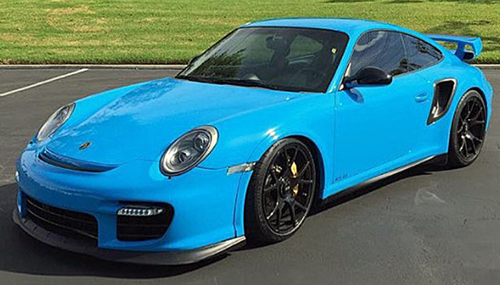 Porsche 997 Turbo with GT2 RS Body Kit.
