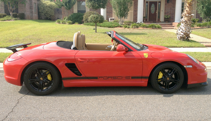 Porsche 987.2 Boxster with GT3 Body Kit & R Wing.
