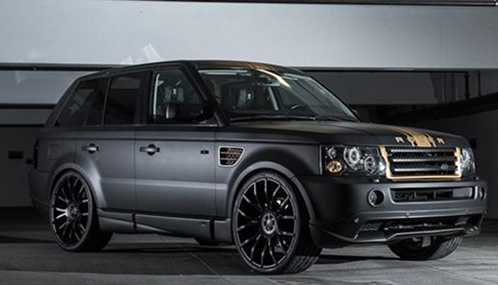 Range Rover Sport with Aero Body Kit.