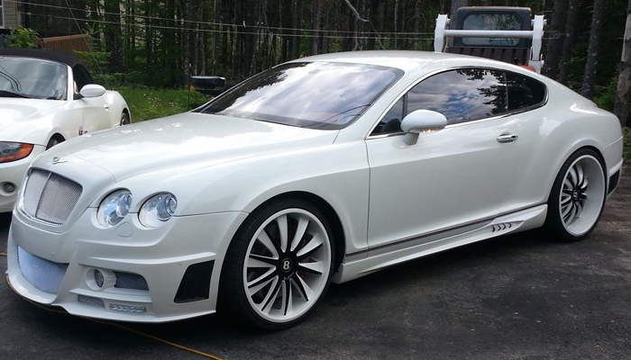 Bentley Continental with Bison Body Kit.