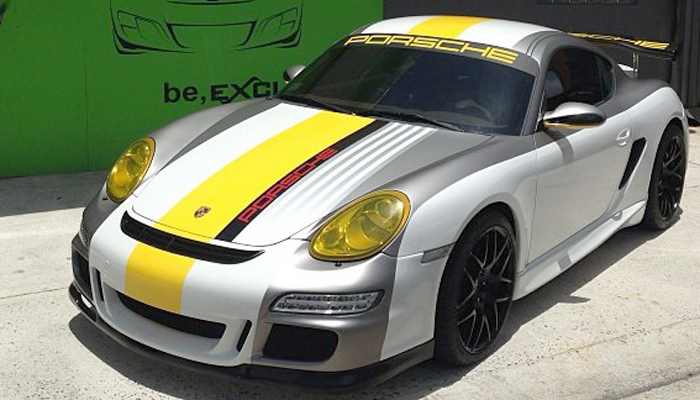 Porsche 987 with GT Body Kit.