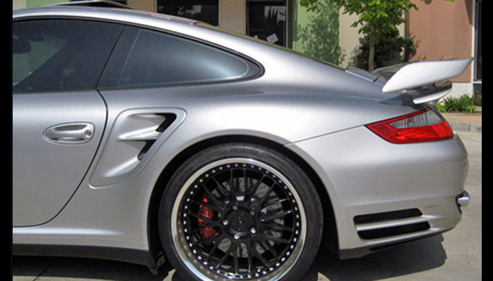 Porsche 997 Turbo with GT2 Add On Wing.