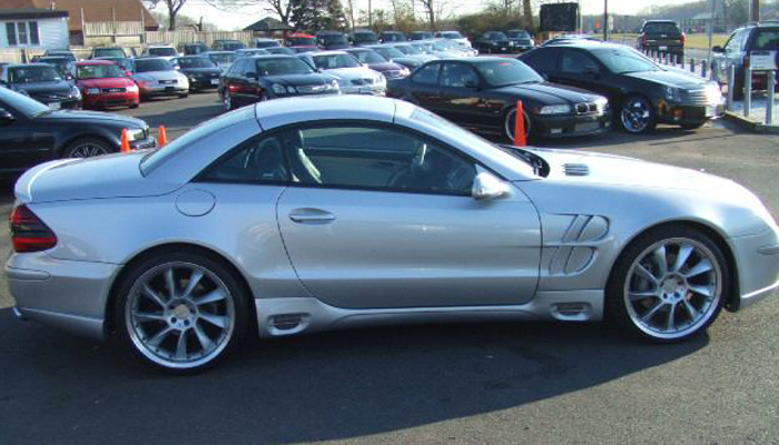Mercedes SL with L Style Body Kit.
