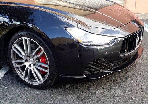 Maserati Ghibli 2 Piece Front Splitter.