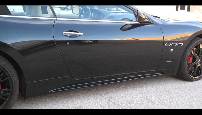 Maserati GranTurismo with our Aero Side Skirts.