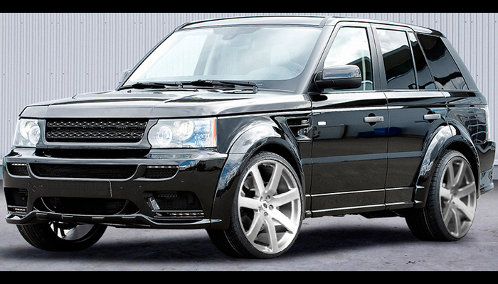 Range Rover Sport with HM Wide Body Kit.