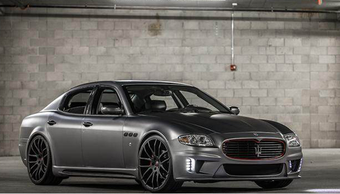 Maserati Quattroporte with Bison Body Kit.