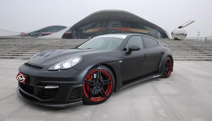 Porsche Panamera Luma Style Wide Body Kit.