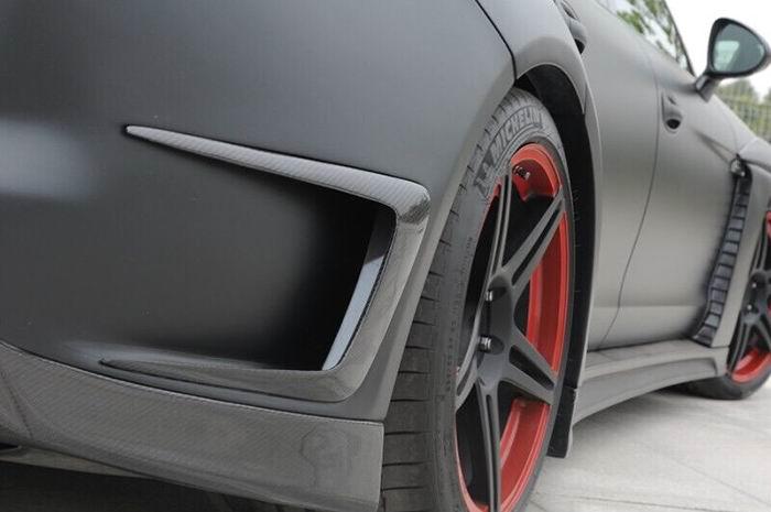 Porsche Panamera Carbon Fiber Rear Bumper Intake.