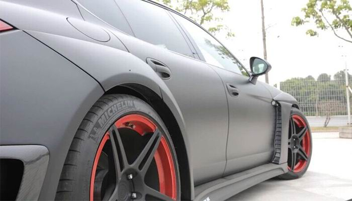 Porsche Panamera Luma Style Fender Flares.