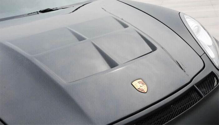 Porsche Panamera Luma Style Custom Carbon Fiber Hood