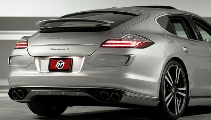 Porsche Panamera with Aero Kit.