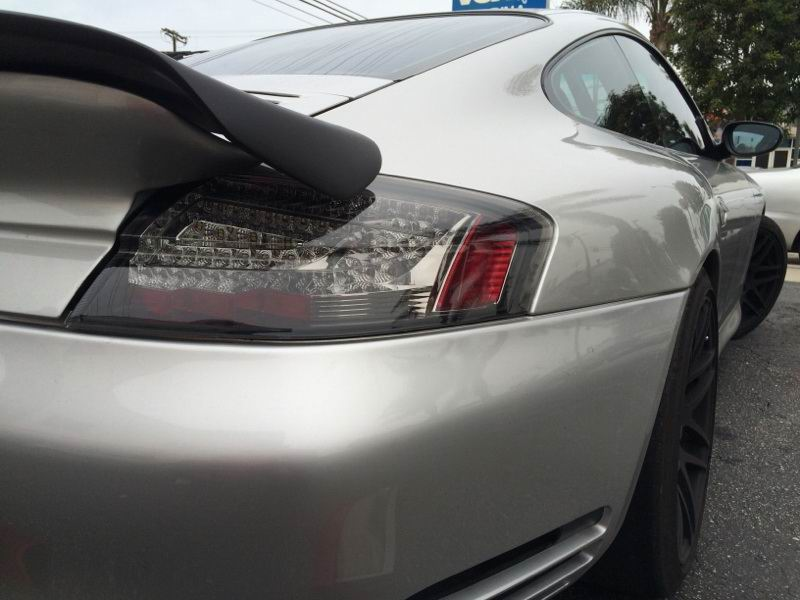 996 Turbo with 997 Style LED Tail Lights.