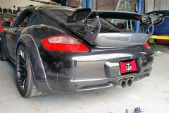 987 GT3 RS Wing w/ Carbon Fiber Base & Blade