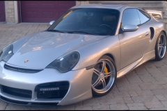 Porshce 996 Turbo with 997 GT Style Body Kit.