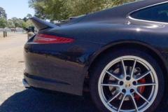 Porsche 991 with Ducktail.