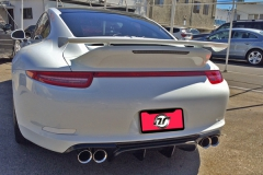 Porsche 991 4S with VSport Rear Finned Diffuser.