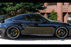 Porsche 997 Turbo with GT Body Kit & Wing.