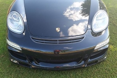 Porsche 987 Cayman with GT3 Front bumper and 997.2 DRL.