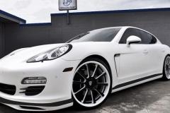 Porsche Panamera with Aero Body Kit.