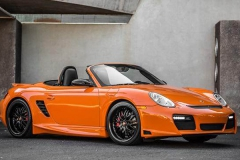 Porsche 987 Boxster with GT Body Kit.
