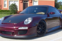 Porsche 997 with 997.2 GT3 Body Kit.