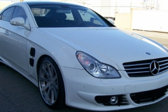 Mercedes CLS 550 with L Style Body Kit.
