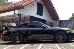 Porsche 997 with 997.2 GT3 Body Kit & Wing.