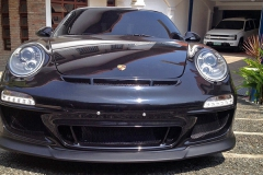 Porsche 997 S with 997.2 Front Bumper.