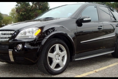 Mercedes ML with AMG Fender Flares.