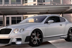 Bentley Continental with Bison Kit.