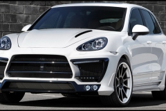 Porsche Cayenne with GTL Wide Body Kit.