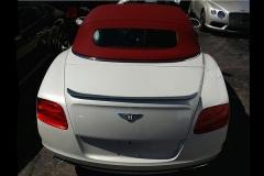 Bentley Continental GTC with Carbon Fiber Trunk Spoiler.