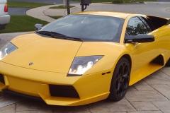 Lamborghini Murcielago with Aventador style Front Bumper.