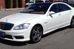 2008 Mercedes S63 with Facelift S63 Body Kit.