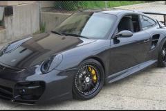 Porsche 997 Turbo with GT Body Kit.