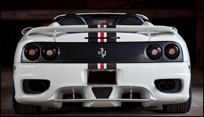 Ferrari 360 Aerodynamic Enhancements Winn Auto Accessories