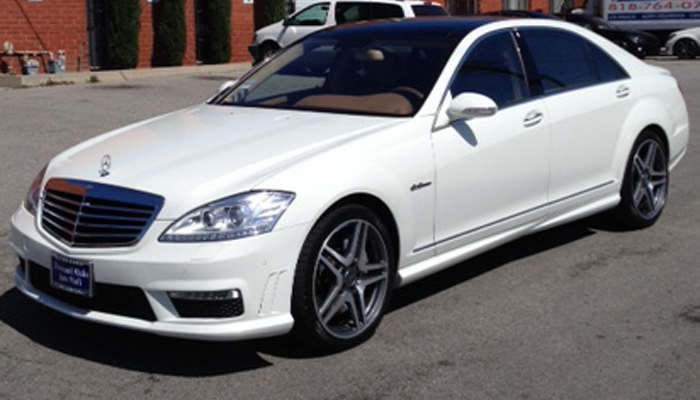 Mercedes S63 2011 Style Update Kit For S550 2007 2013